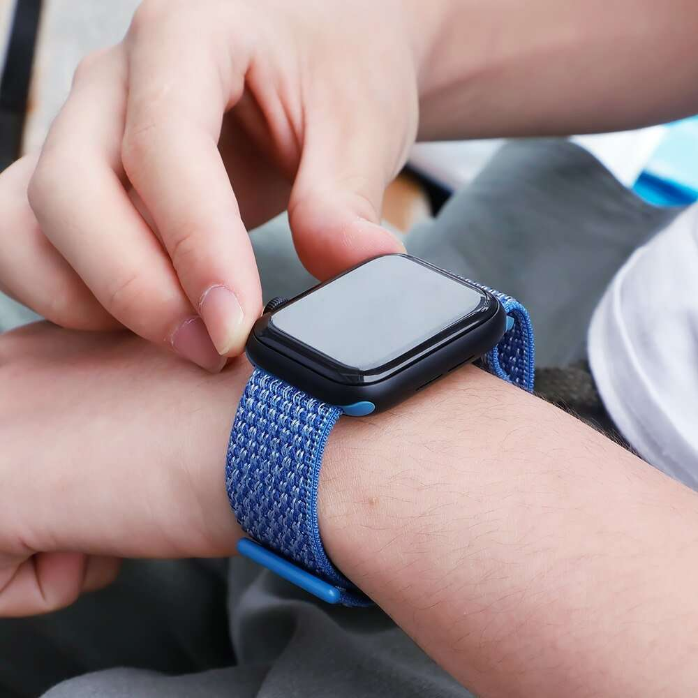 Nylon bracelet loop Strap for apple watch band