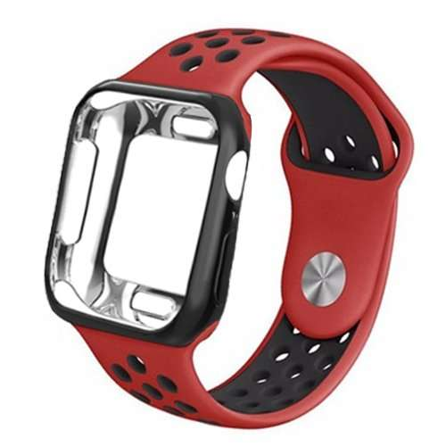 silicone Apple watch Case + strap