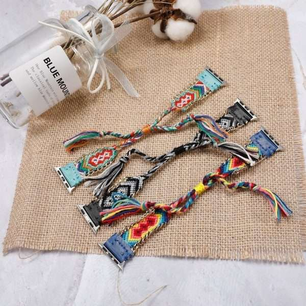 colorful handmade bracelet Nylon strap