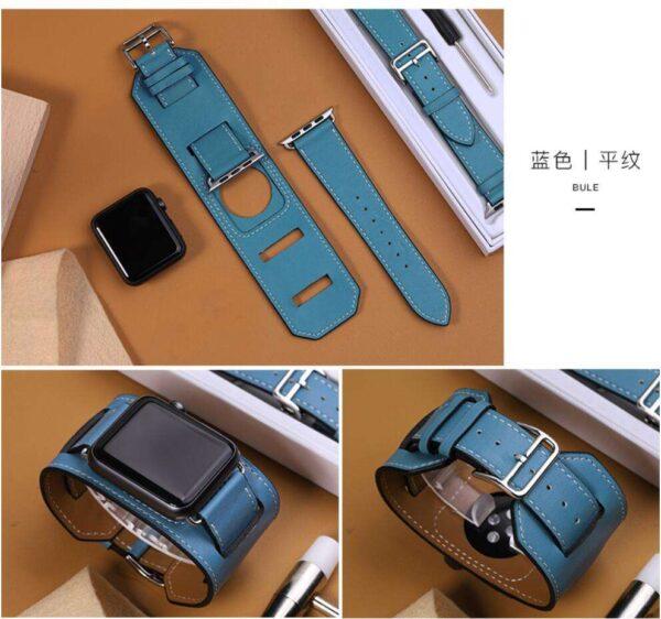Genuine Leather Cuff Bracelet Leather strap