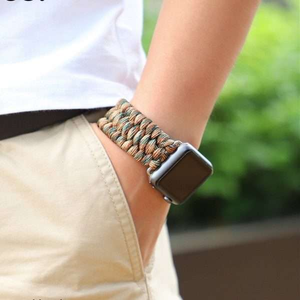 Survival Rope Bracelet watch band