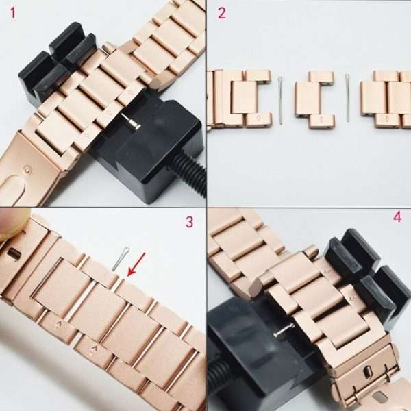 stainless steel Ceramic strap for Apple watch band