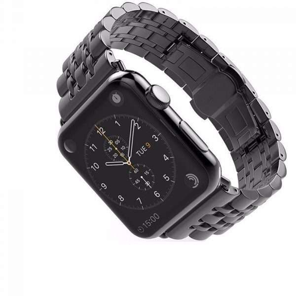 Stainless Steel pulseira Butterfly Strap For Apple Watch band