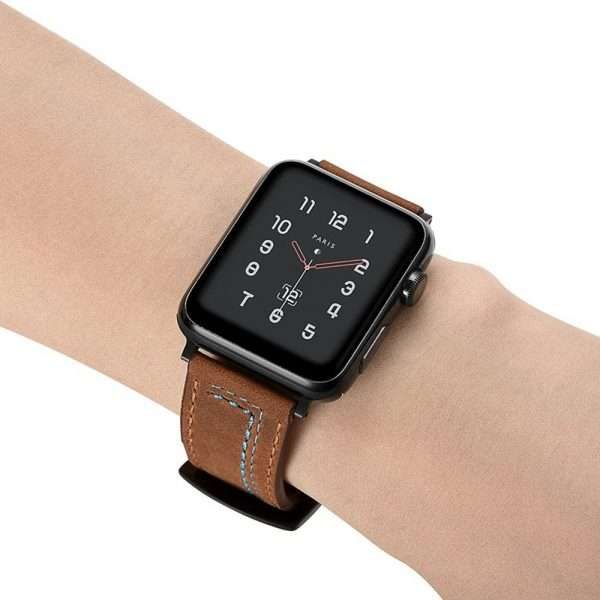 Leather belt Strap For Apple Watch band
