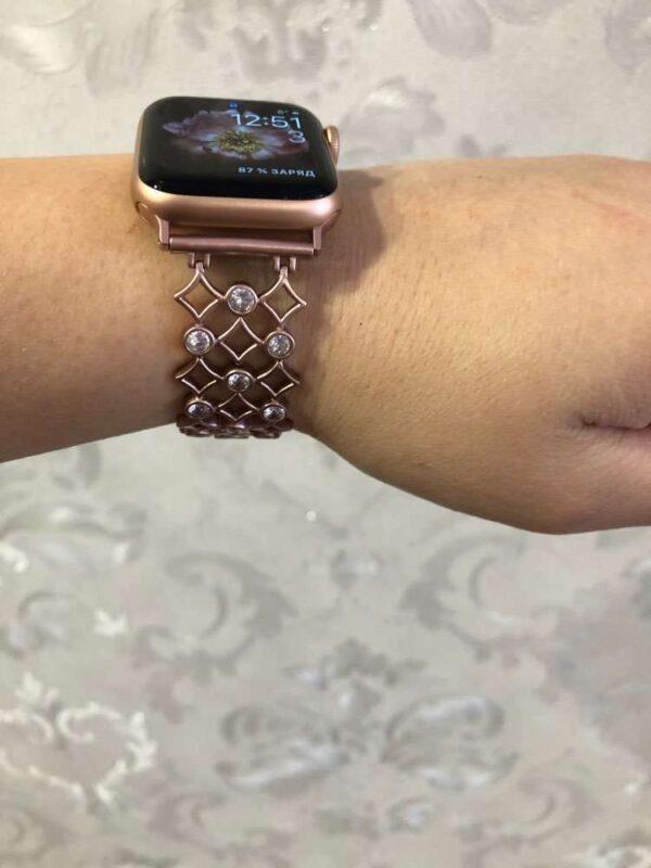 Women's Diamond Shaped Bracelet Band for Apple Watch