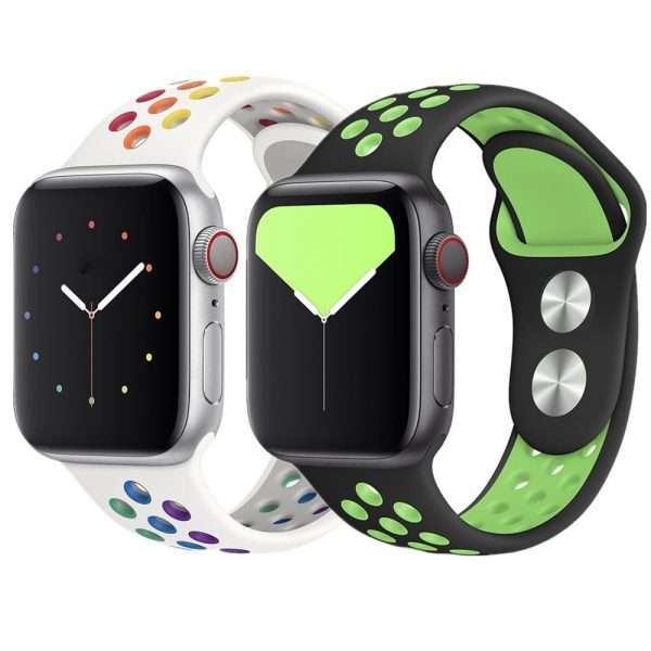 Pride Edition silicone bracelet apple watch series 5 4 3 2 1
