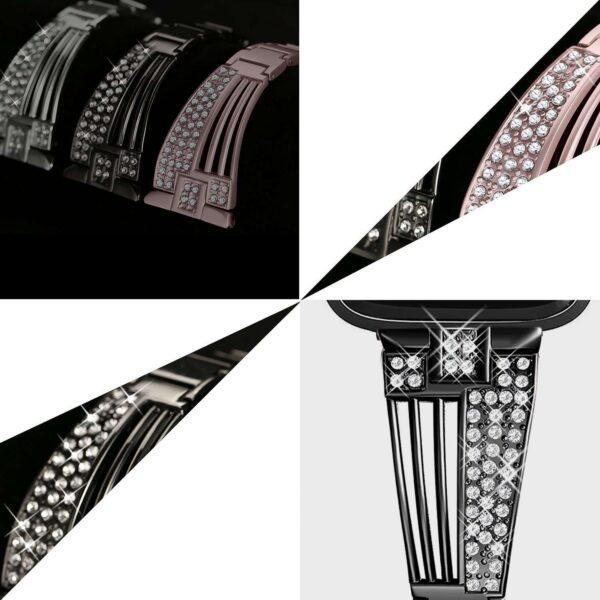 women diamond strap for apple watch series 5 4 3 2