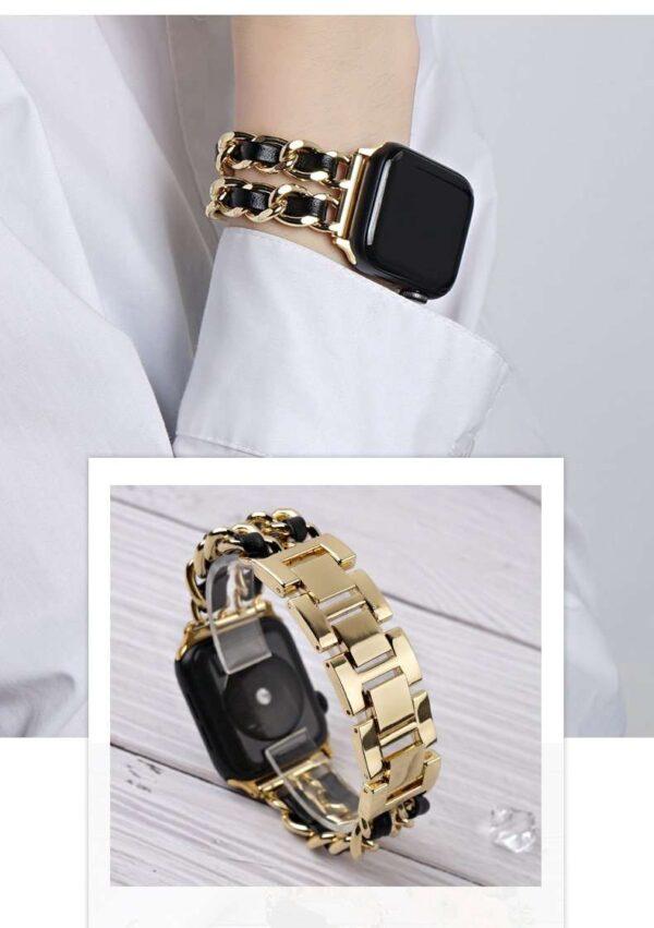 Cowboy Stainless steel Bracelet Apple watch