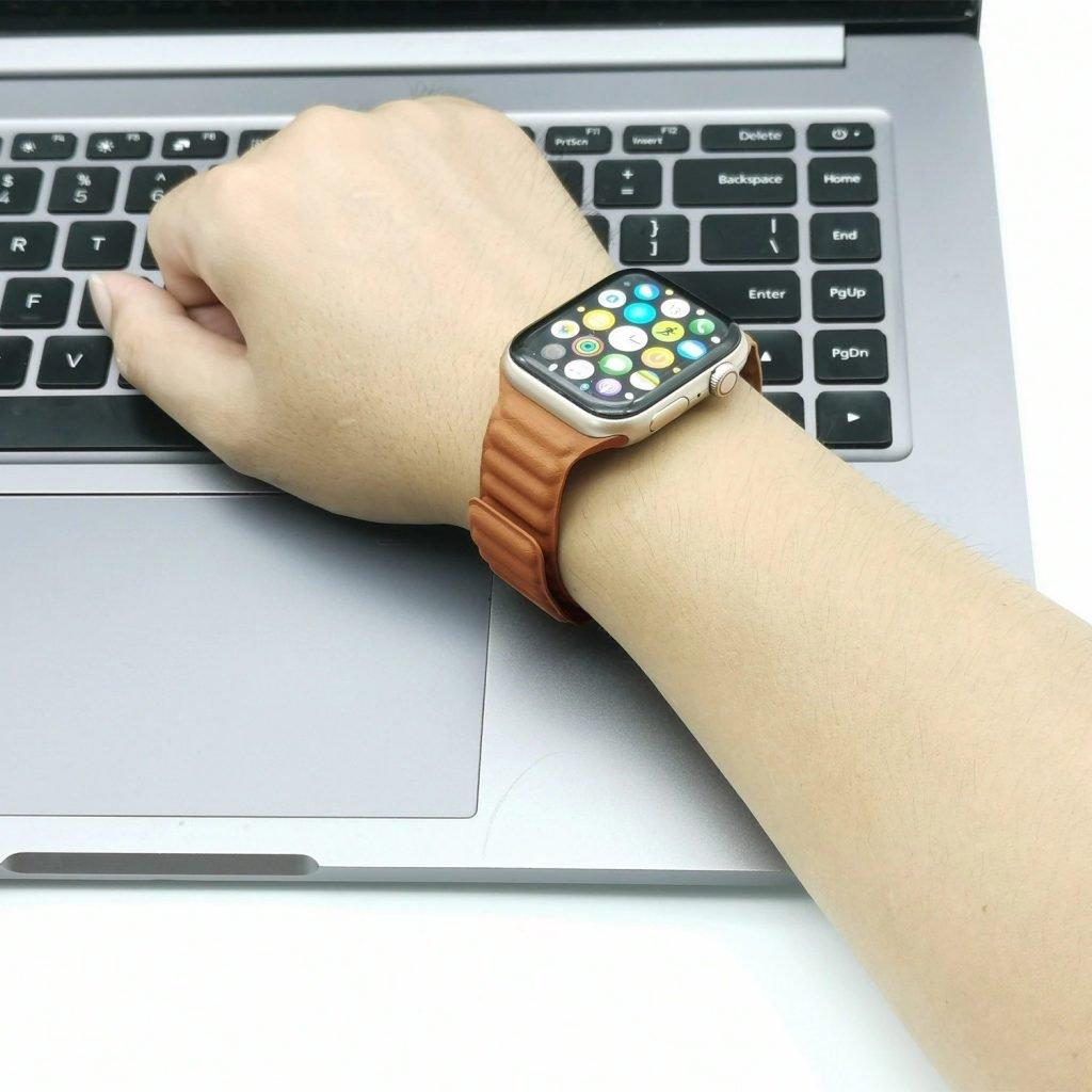 Magnetic apple watch band 6 Band for Series 3 4 & 5