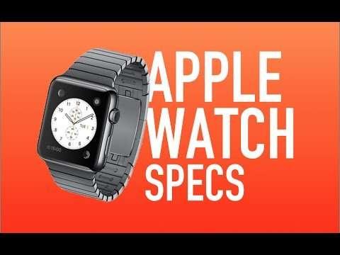 Apple Watch specs - ft. AWC