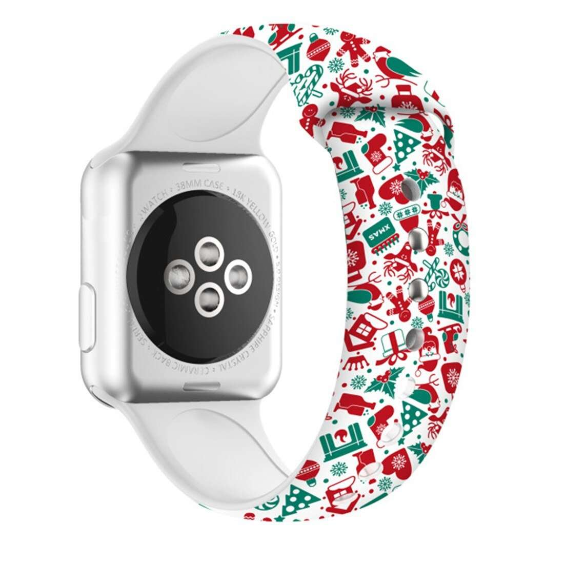 Christmas strap For Apple Watch band