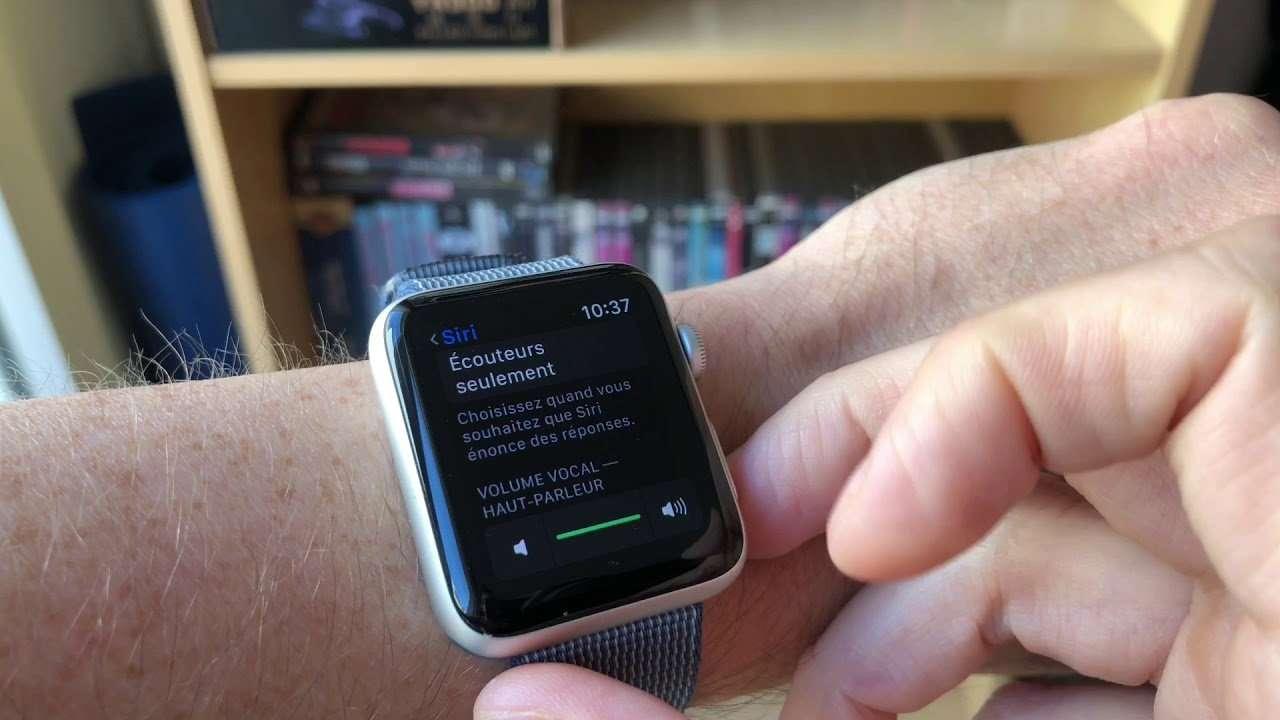 """Apple Watch : comment utiliser la fonction """"Lever le poignet"""" pour parler à Siri (WatchOS 5)"""