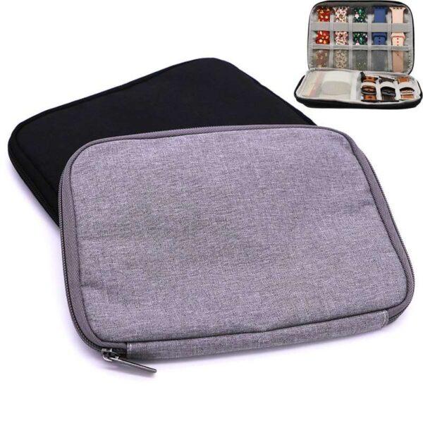 Multifunction Portable Travel Organizer Bag Watch Band Storage Holder Watch Straps box for Apple Watch band