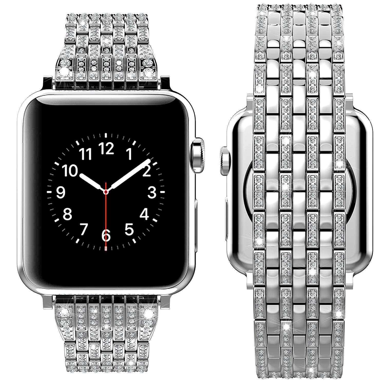 Luxury Diamond Silver Case