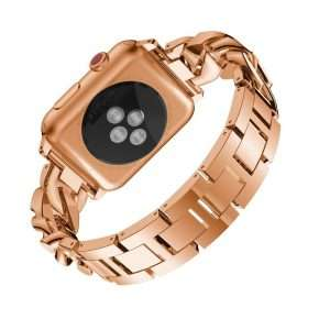 women Metal Diamond Strap For Apple Watch Series 6 SE 5 band 40mm 44mm 38mm 42mm