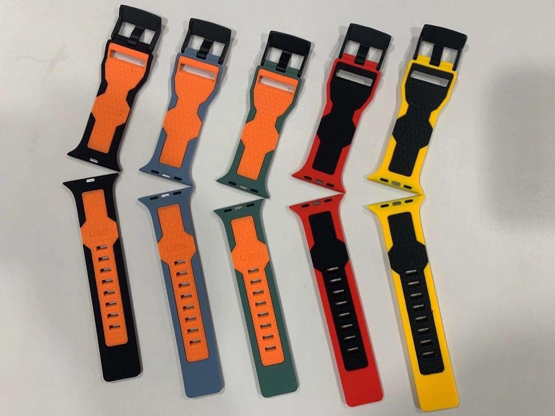 [U] by UAG Fashion brand Silicone watch band for apple watch