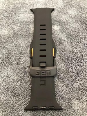 Fashion brand watch band strap loop for apple watch 6 se 5 4 40mm 44mm watchband 1