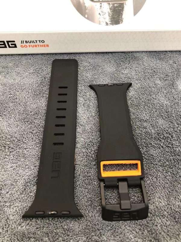 Fashion brand watch band strap loop for apple watch 6 se 5 4 40mm 44mm watchband 3