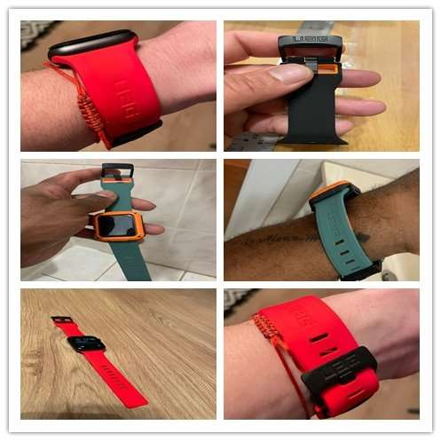 Fashion brand watch band strap loop for apple watch 6 se 5 4 40mm 44mm watchband 5